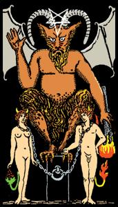 carta el diablo tarot