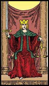 carta la justicia tarot
