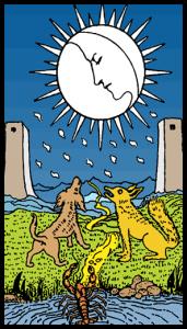 carta la luna tarot