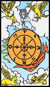 carta la rueda tarot