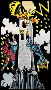 carta la torre tarot