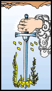 as de espadas significado