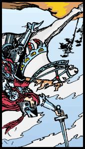 caballo de espadas significado