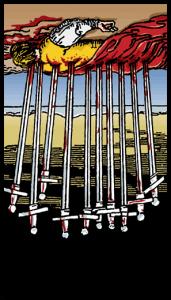 diez de espadas significado