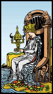 carta reina de copas tarot