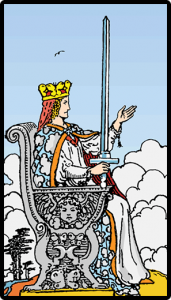 carta reina de espadas tarot