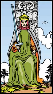carta rey de espadas tarot