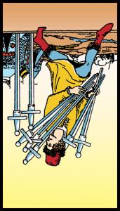 siete de espadas significado
