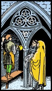 carta tres de oros tarot